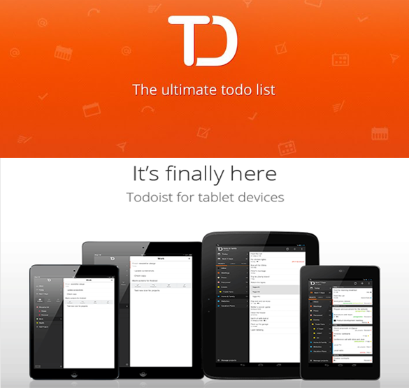 Tashify, Todoist, To to list, best to do app